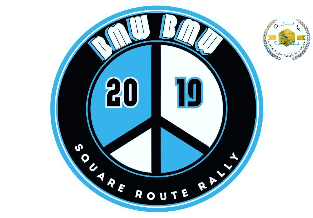 Logo for the 2019 Square Route Rally