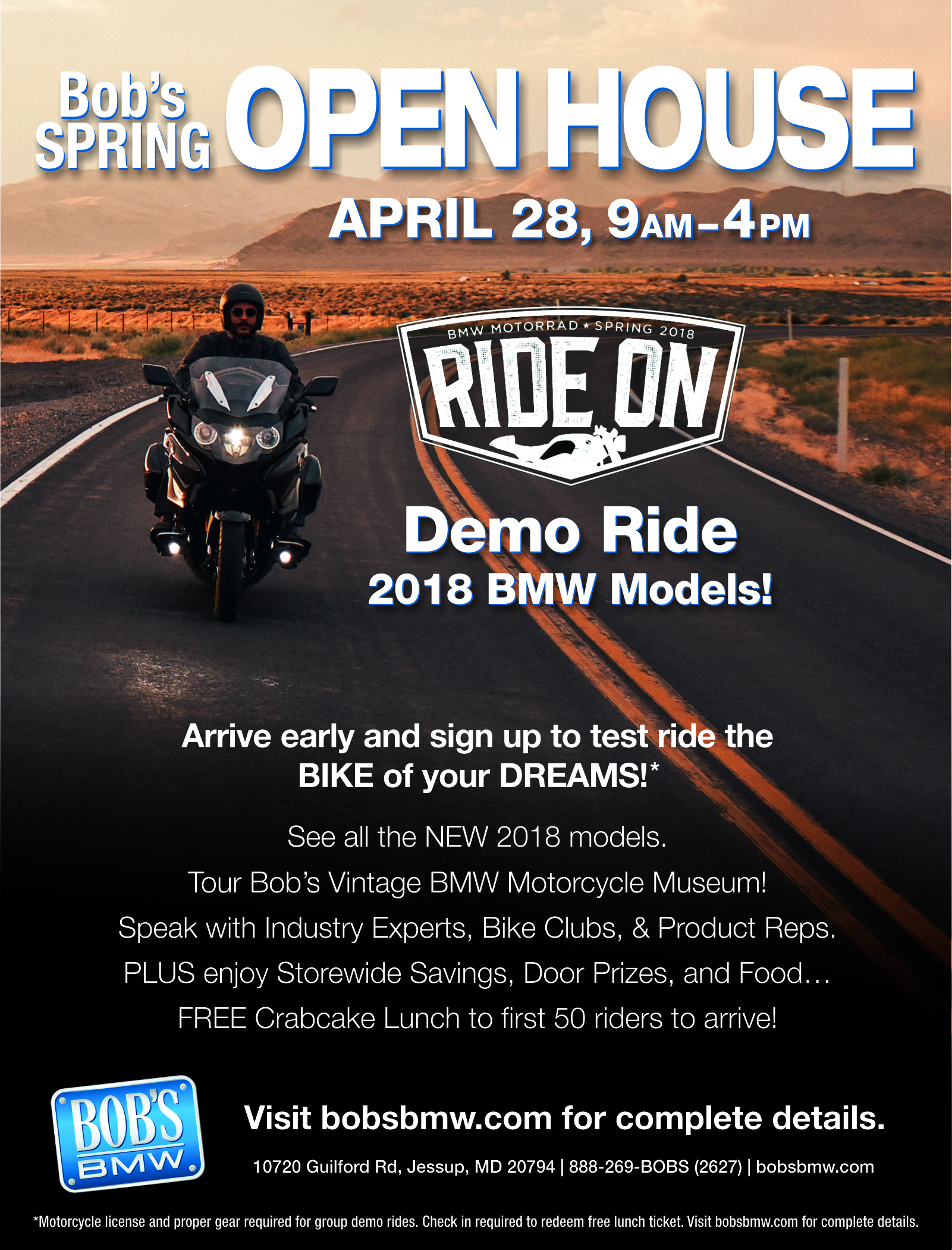 BMW Bikers of Metropolitan Washington