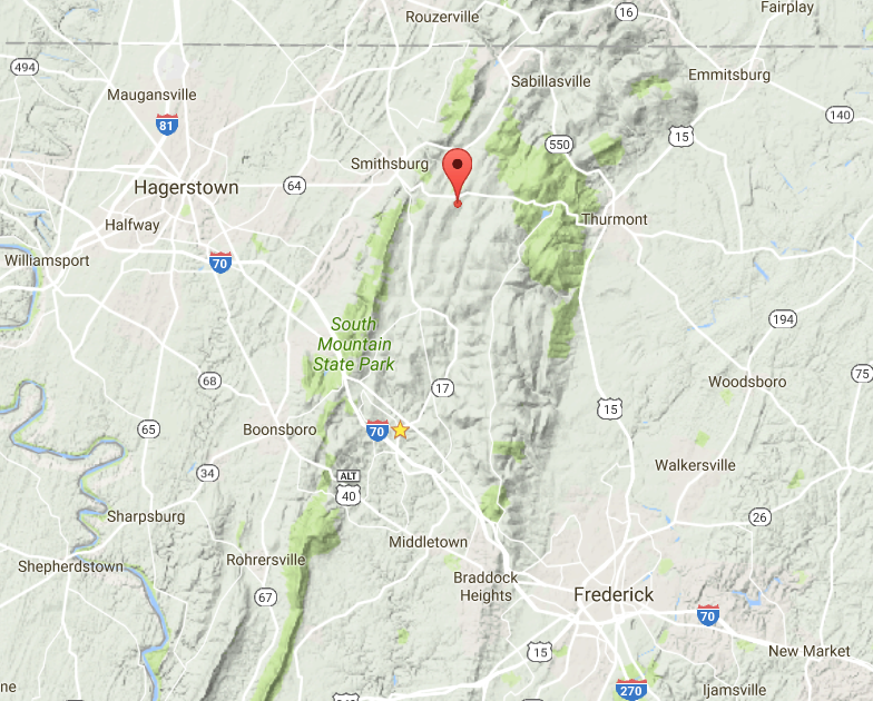 Catoctin Area Map